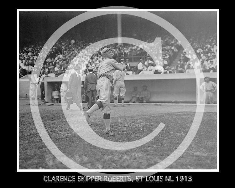 "Clarence Ashley ""Skipper"" Roberts, St. Louis Cardinals NL, 1913."