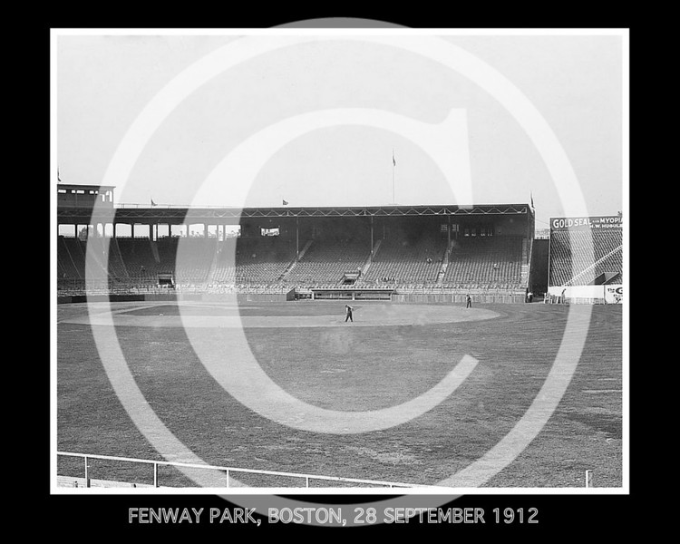 Fenway Park, Boston Red Sox AL, 28 September 1912. 2 of 3