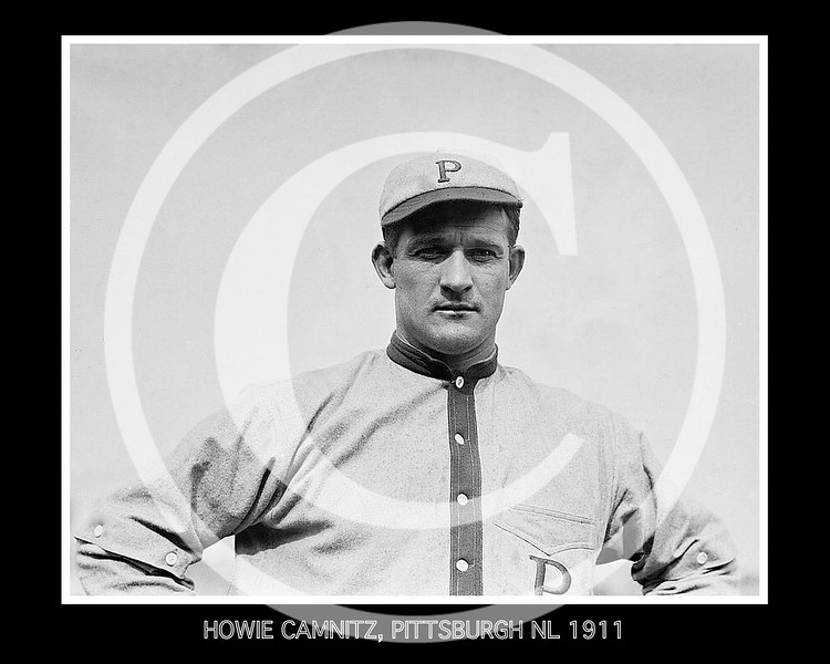 Howie Kamnitz, Pittsburgh Pirates NL, 1911.