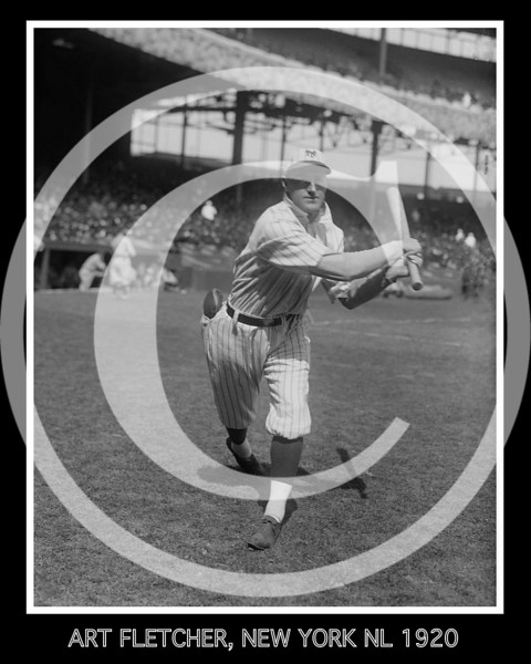 Art Fletcher, New York Giants NL, 1920.