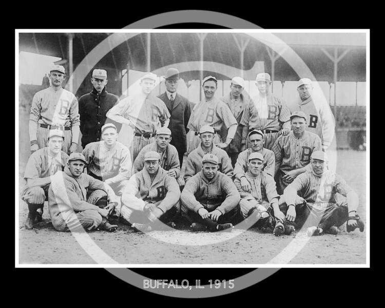 Buffalo Bisons, International League, 1915.