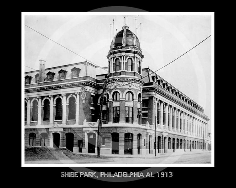 Shibe Park, Philadelphia Athletics AL,1913.