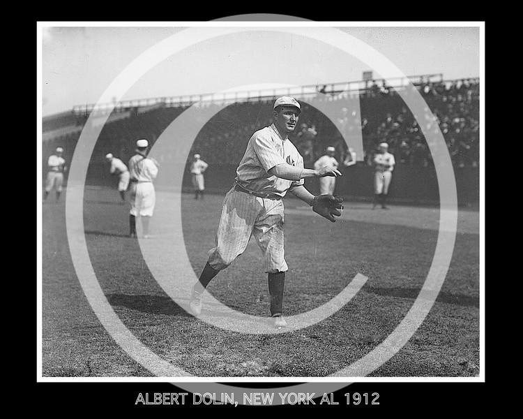 ALBERT COZY DOLIN, NEW YORK AL 1912