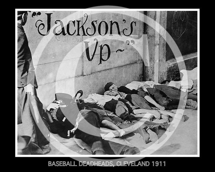 Baseball deadheads, Cleveland 1911.