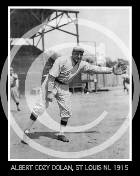 Albert Cozy Dolan, St. Louis Cardinals NL, 1915.