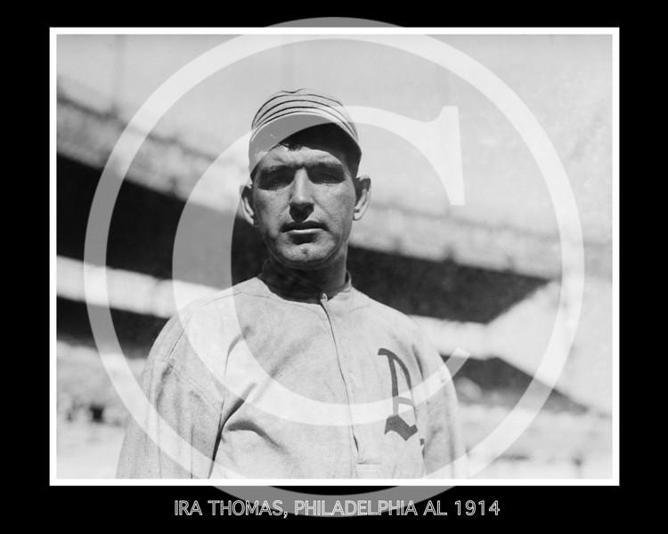 Ira Thomas, Philadelphia Athletics AL 1914.