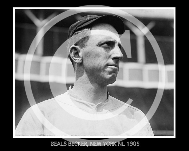 Beals Becker, New York Giants NL, 1905.