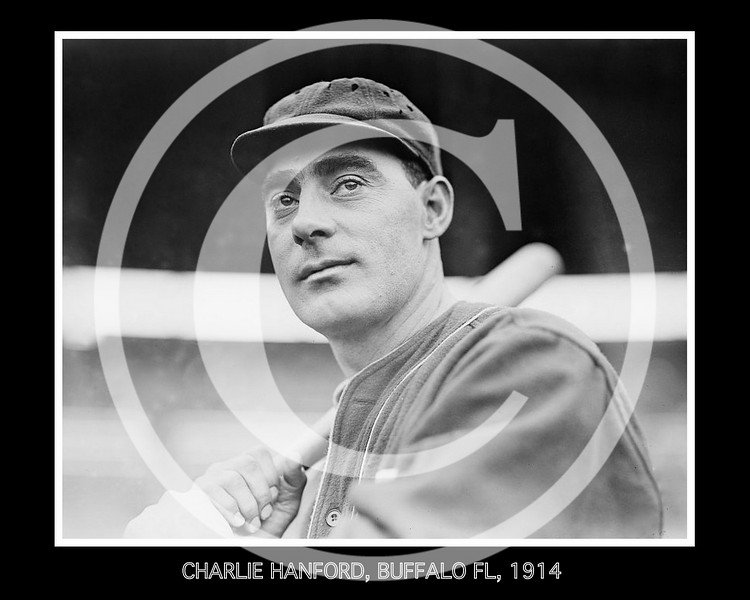 Charlie Hanford, Buffalo Buffeds, Federal League, 1914.