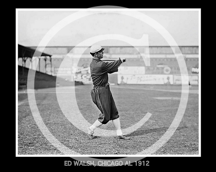 Ed Walsh, Chicago White Sox AL, 1912.
