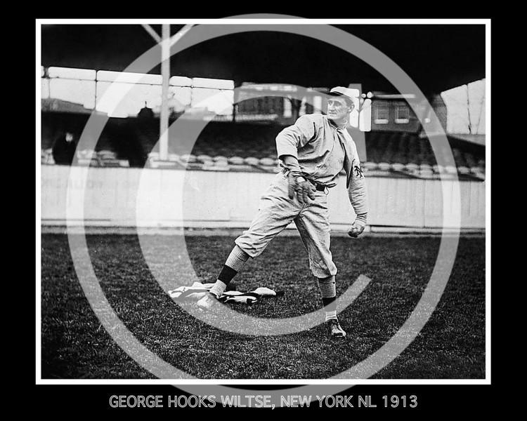 George Hooks Wiltse, New York Giants NL, 1913.