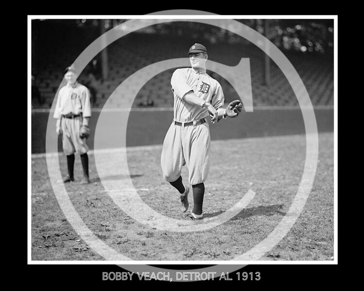 Bobby Veach, Detroit Tigers AL, 1913.