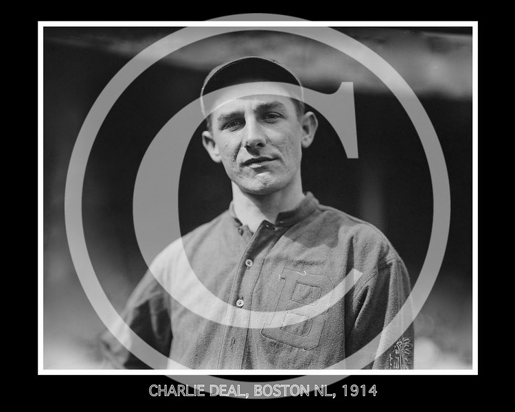Charlie Deal, Boston Braves NL, 1914.