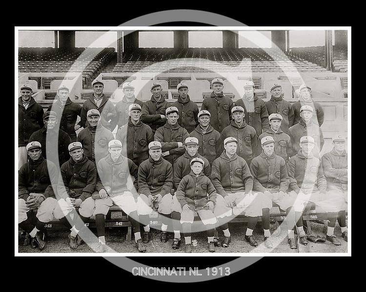 Cincinnati Reds NL, May 1913.