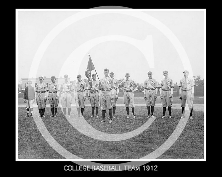 College Baseball Parade, 1912.
