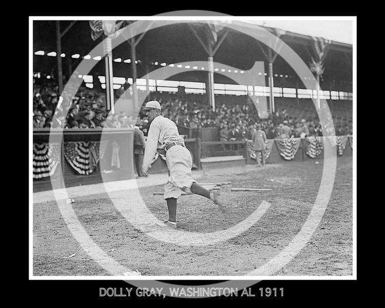 Dolly Gray, Washington Senators AL, 1911.