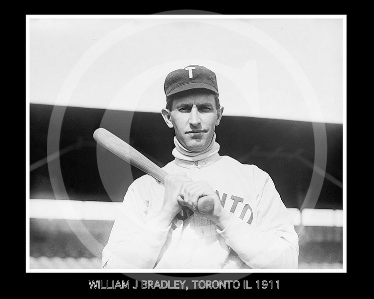 William J Bradley, Toronto IL 1911.