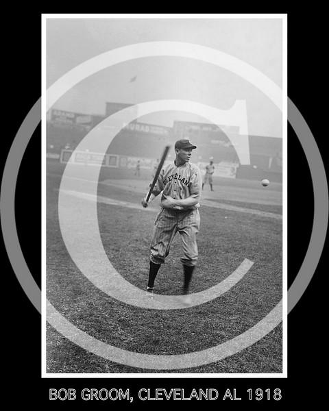 Bob Groom, Cleveland Indians AL, 1918.