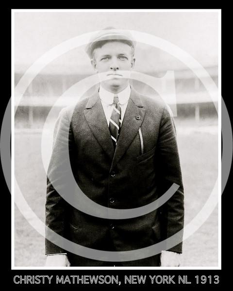Christy Mathewson,  New York Giants NL, 1913.