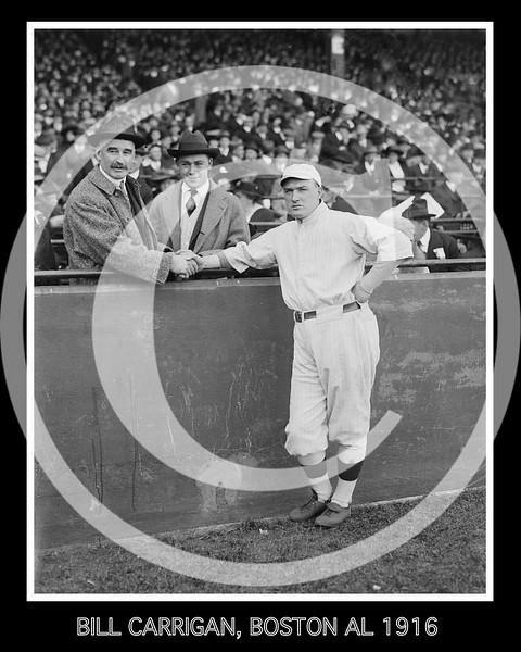 Bill Carrigan - Joseph J. Lannin, Boston Red Sox AL owner and Bill Carrigan, manger 1916.