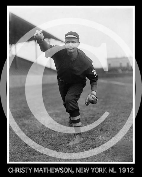 Christy Mathewson,  New York Giants NL, 1912.