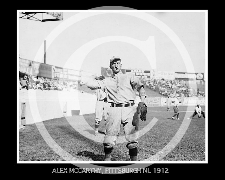 ALEX MCCARTHY, PITTSBURGH NL 1912