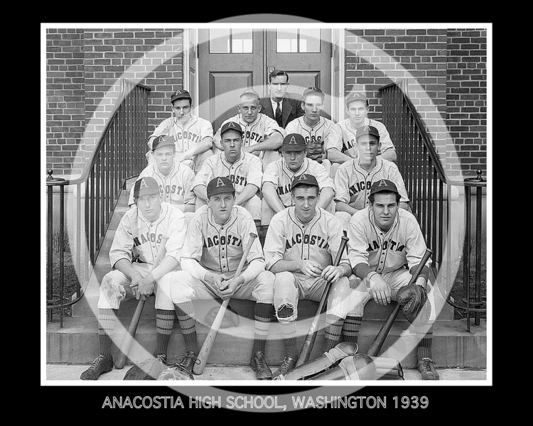 Anacostia High School, Washington 1939.