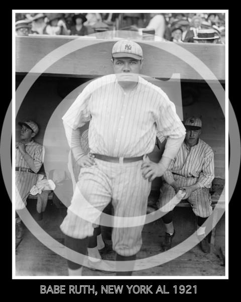 Babe Ruth, New York AL 1921 # 2