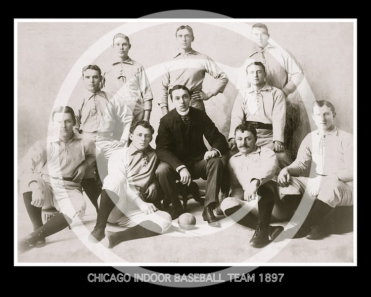 Chicago indoor baseball team 1897.