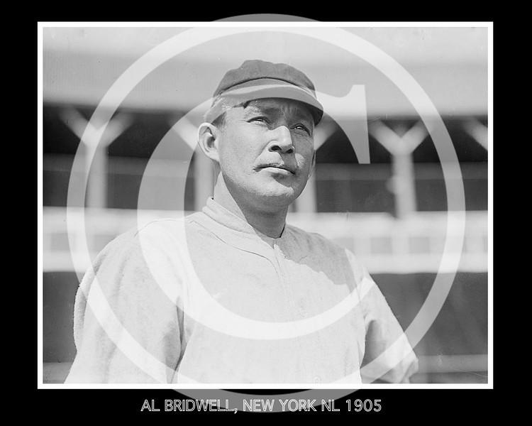 Al Bridwell, New York Giants NL, 1905.