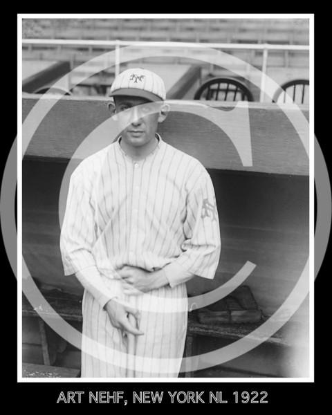 Art Nehf, New York Giants NL,  1922.