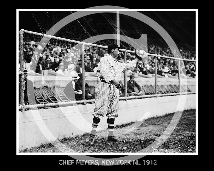 Chief Meyers, New York NL 1912