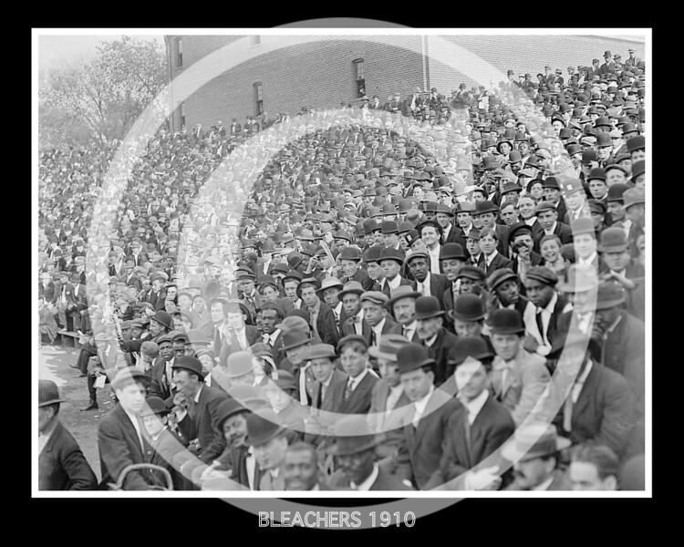 Bleachers 1910.