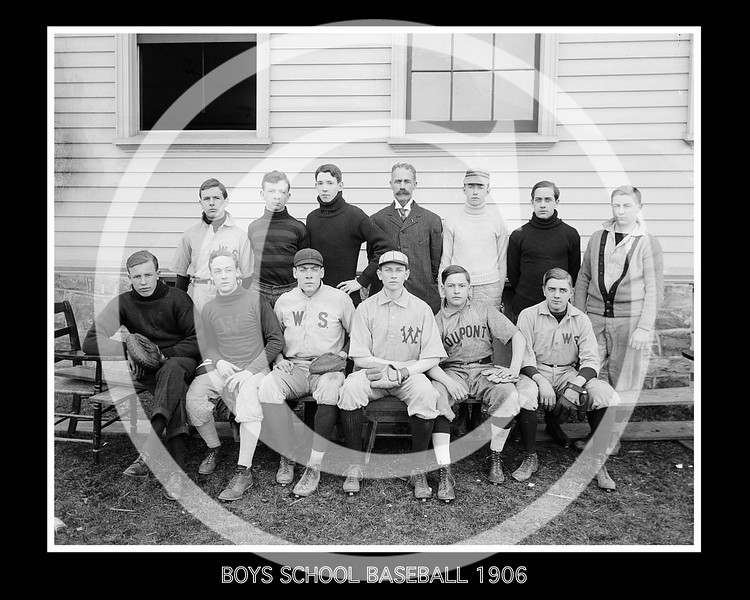 Boys school baseball team 1906.