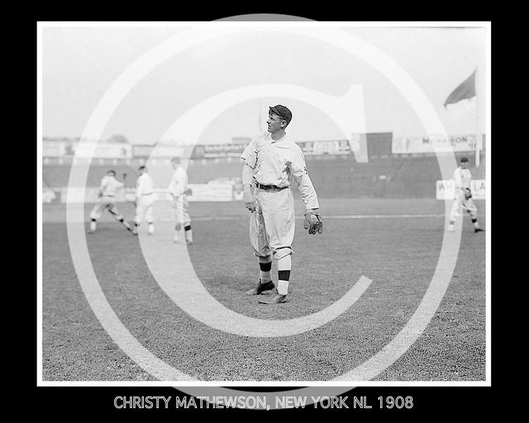 Christy Mathewson, New York Giants NL, 1908.