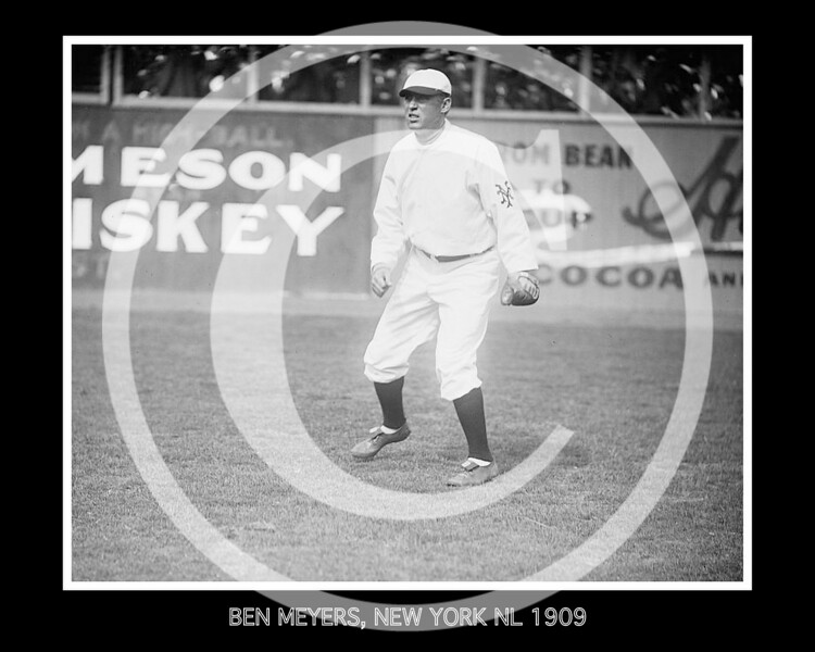Ben Meyers, New York Giants NL, 1909.