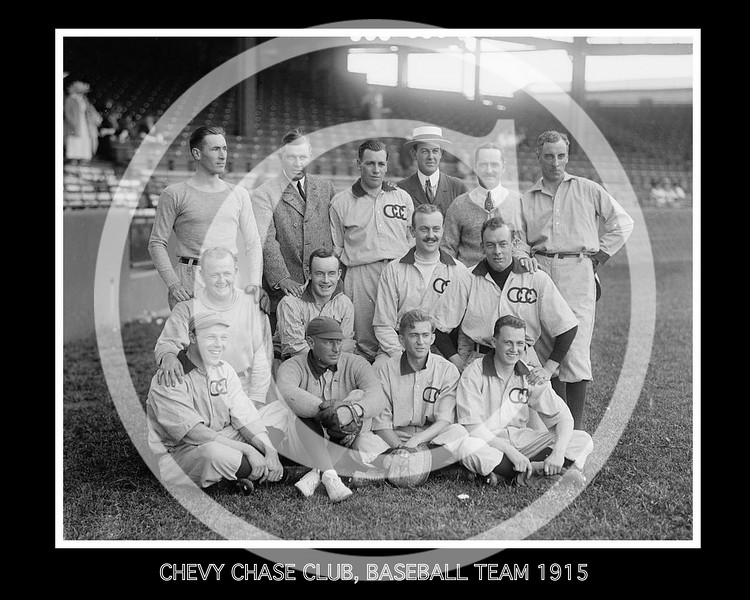 Chevy Chase baseball team 1915.