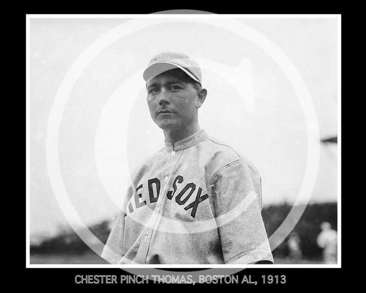 Chester Pinch Thomas, Boston AL 1913