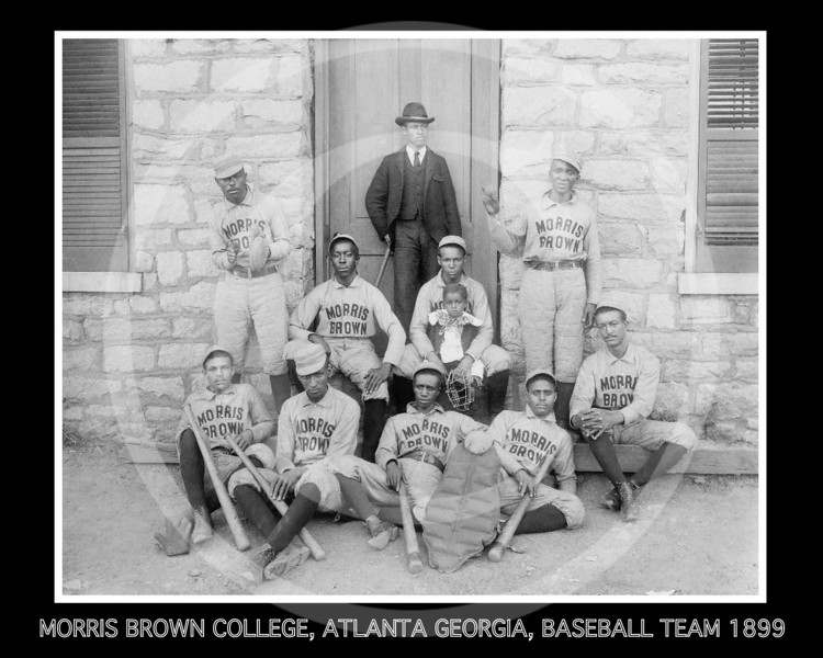 Morris Brown College baseball team, Atlanta, Georgia 1899.