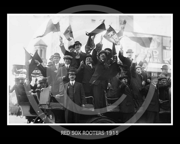 Boston Red Sox Rooters 1915.