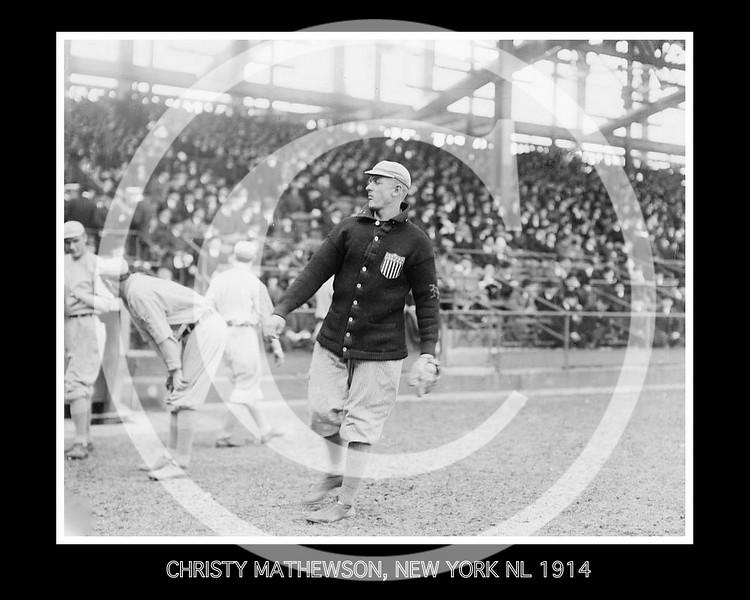 Christy Mathewson, New York Giants NL, 1914.