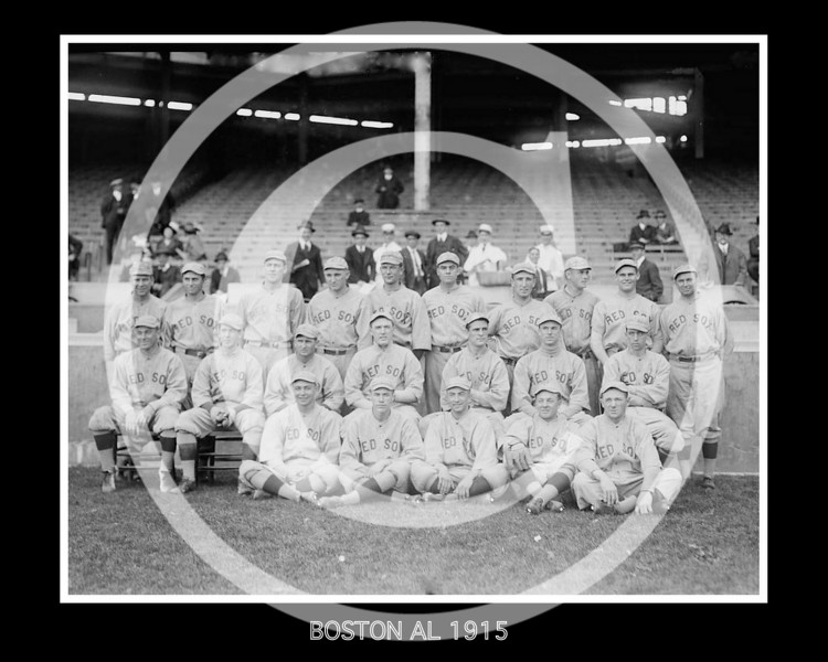 Boston Red Sox AL, 4 October 1915.
