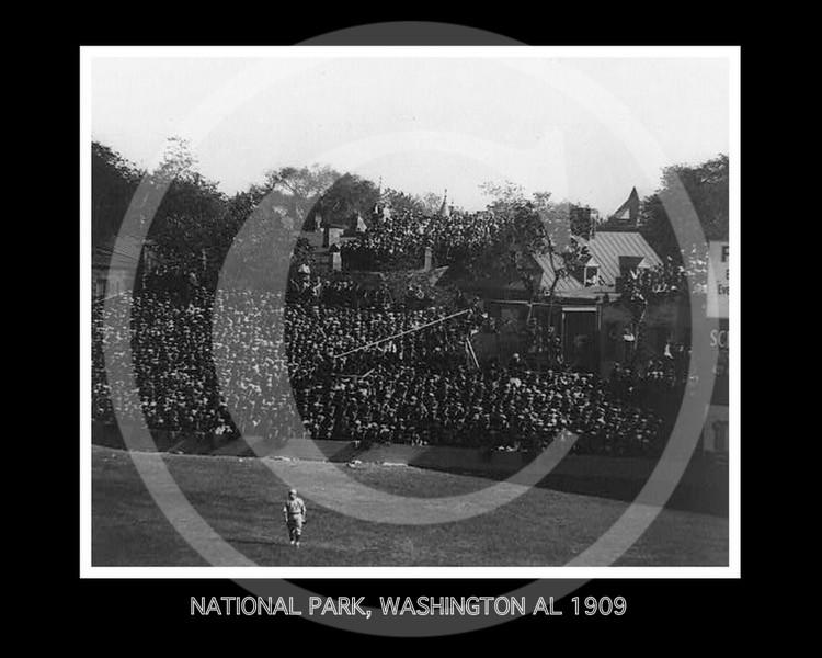 National Park, Washington Senators AL 1909.