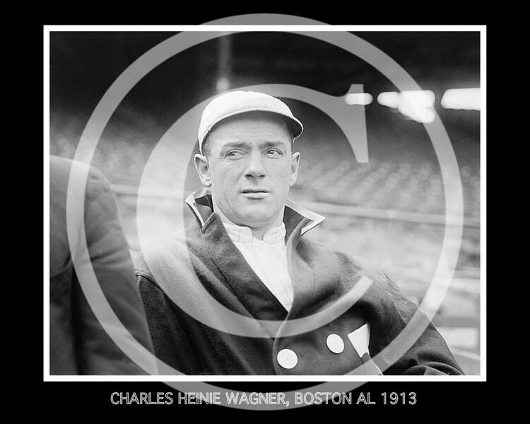 CHARLES HEINIE WAGNER, BOSTON AL 1913