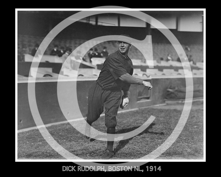 Dick Rudolph, Boston Braves NL,1914.