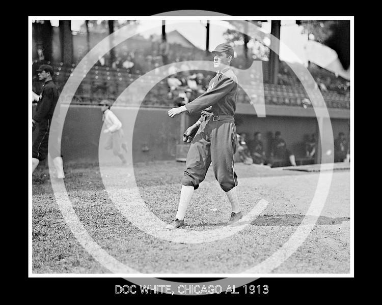 Doc White, Chicago White Sox AL, 1913.