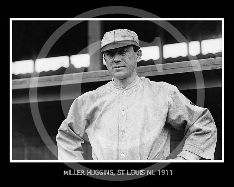 Miller Huggins, St. Louis Cardinals NL,  1911.