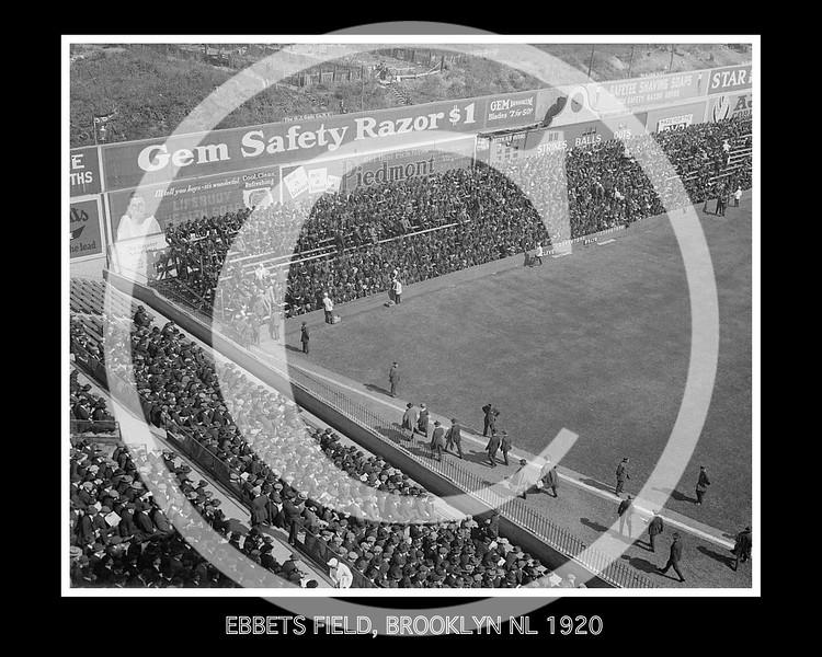 Ebbets Field, Brooklyn NL, 5 October 1920.