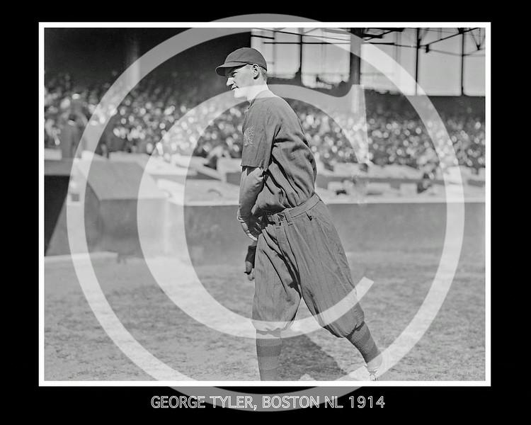 George Lefty Tyler,  Boston Braves NL, 1914.