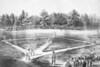 Baseball Game at the Elysian Fields, Hoboken N.J, 1866.