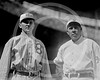 Chief Meyers - Lew McCarty, Brooklyn Robins NL & Chief Meyers, New York Giants NL, 1914.